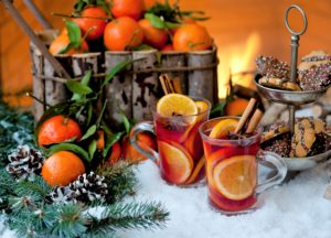 tangerine, new year, holiday, Christmas mood
