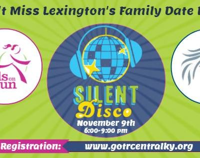 Girls on the Run Silent Disco ~ 11/9/18