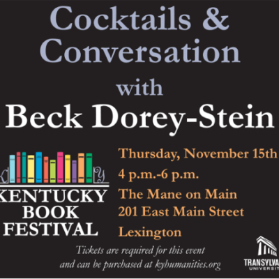 Cocktails and Conversation ~ 11/15/18